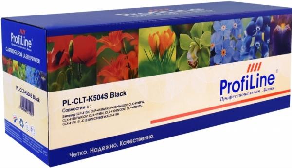 Картридж совместимый ProfiLine CLT-K504S черный для Samsung