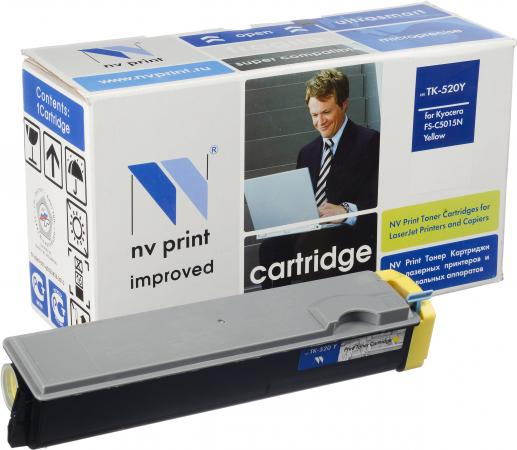 Картридж Kyocera TK-520Y желтый совместимый NV Print
