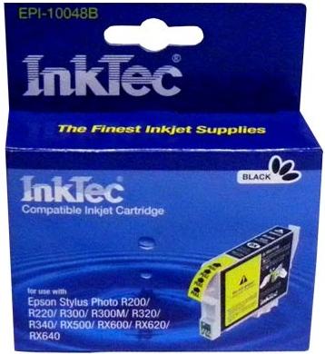 Картридж совместимый InkTec T0481 черный для Epson