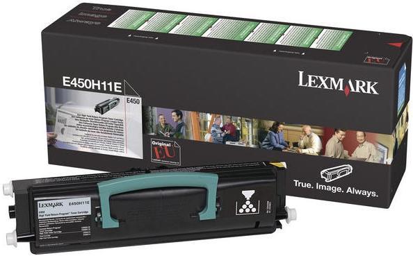 Тонер-картридж LEXMARK E450H11E оригинальный для Е450