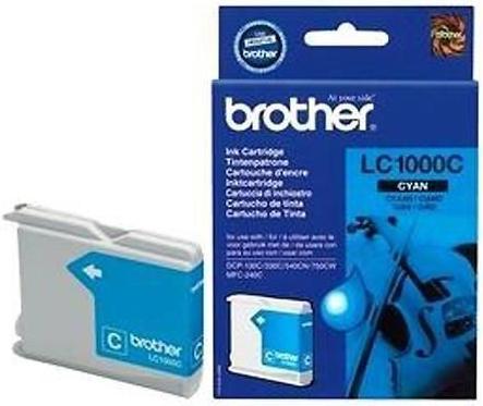 Картридж Brother LC1000C голубой оригинальный