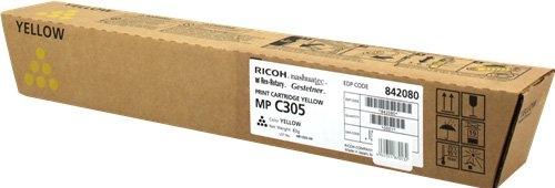 Тонер-картридж MPC305E для Ricoh желтый