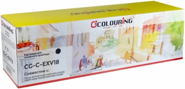 Тонер-туба совместимый Colouring C-EXV18 для Canon