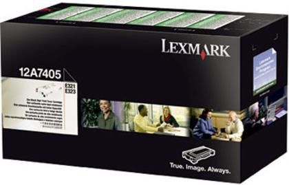 Картридж Lexmark 12A7405 черный оригинальный