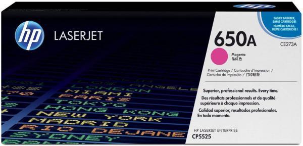 Картридж HP CE273A пурпурный оригинальный