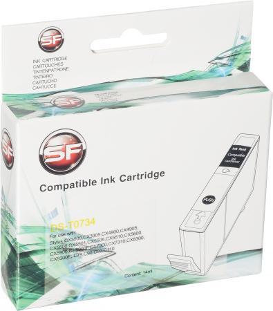 Картридж совместимый SuperFine T0734 жёлтый для Epson