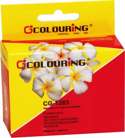 Картридж совместимый Colouring 1283 для Epson пурпурный