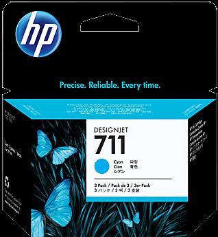 Картриджи HP CZ134A голубые тройная упаковка оригинальные