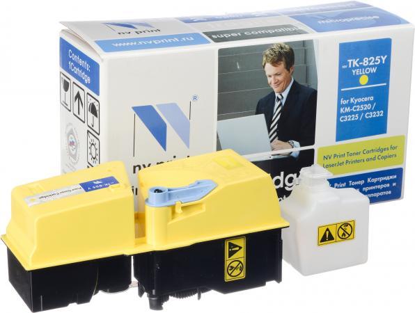 Тонер-картридж Kyocera TK-825Y желтый совместимый NV Print
