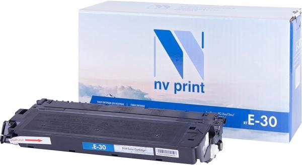 Картридж совместимый NVPrint E-30 для Canon