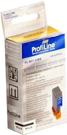 Картридж совместимый ProfiLine BCI-24bk для Canon