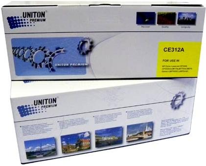 Картридж совместимый UNITON Premium CE312A желтый для HP