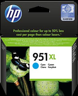 Картридж HP CN046AE голубой оригинальный