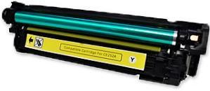 Картридж совместимый SuperFine CE252A желтый для HP