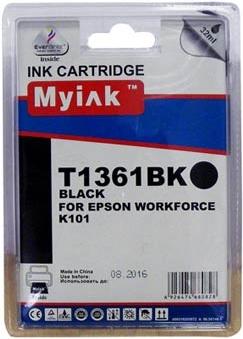 Картридж совместимый MyInk T1361 черный для Epson