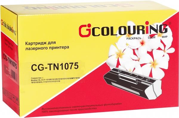 Картридж совместимый Colouring TN-1075 для Brother
