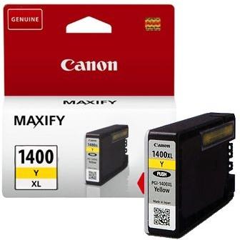 Картридж Canon PGI-1400XLY оригинальный желтый
