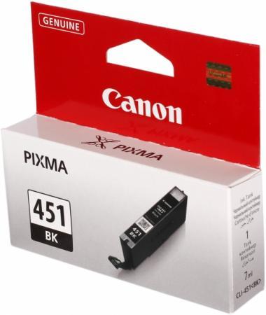 Картридж CANON CLI-451BK черный оригинальный