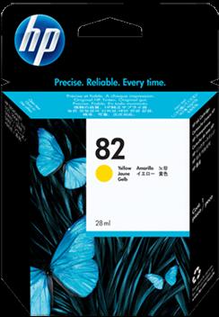 Картридж HP CH568A жёлтый оригинальный