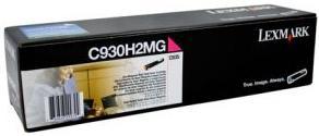 Картридж Lexmark C930H2MG пурпурный оригинал