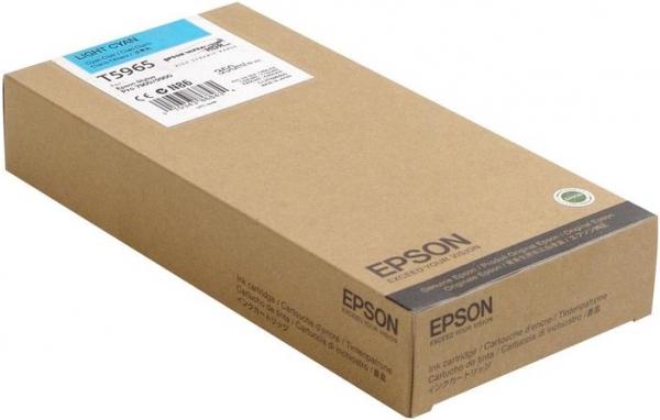 Картридж Epson T5965 (C13T596500) светло-голубой оригинальный