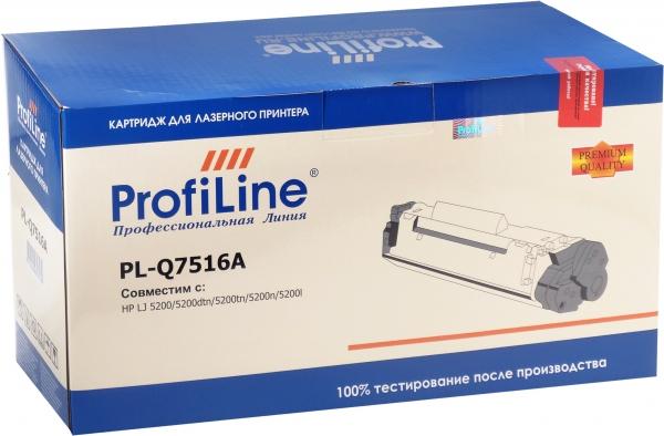 Картридж совместимый ProfiLine Q7516A/509 для HP