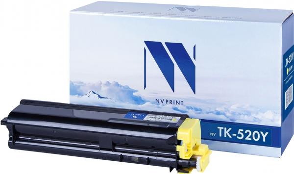 Картридж совместимый NVPrint TK-520 для Kyocera желтый
