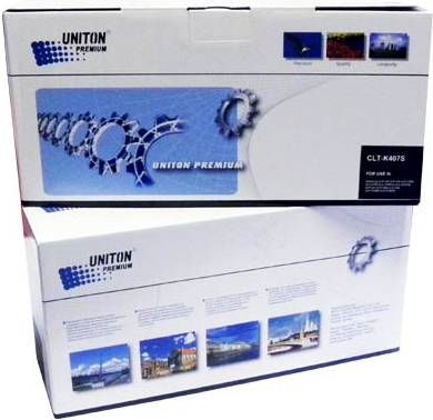 Картридж совместимый для SAMSUNG CLT-K407S черный UNITON Premium