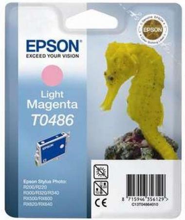 Картридж EPSON T0486 светло-пурпурный оригинальный