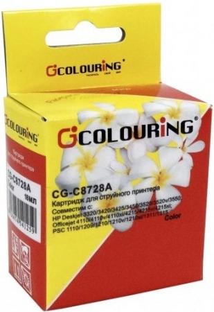 Картридж совместимый Colouring C8728A для HP Color
