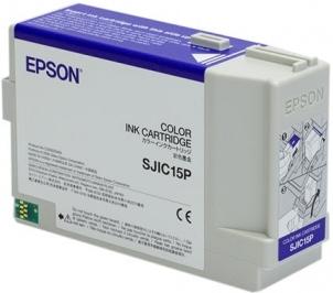 Картридж EPSON C33S020464 (SJIC15P) цветной оригинальный