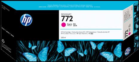Картридж HP 772 пурпурный оригинальный