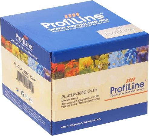 Тонер-туба совместимый ProfiLine CLP 300C Cyan для Samsung
