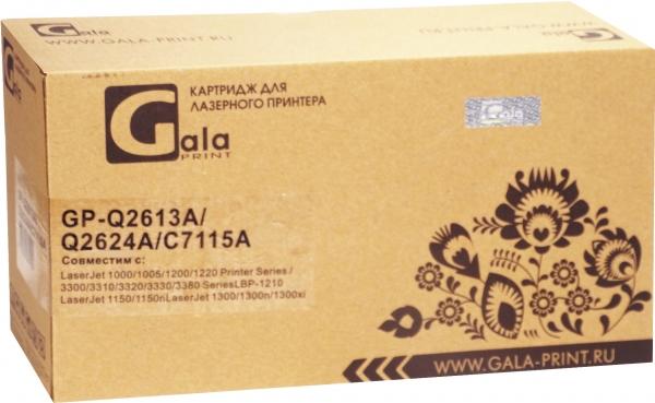 Картридж совместимый GalaPrint Q2613A/Q2624A/C7115A/EP-25 для HP и Canon
