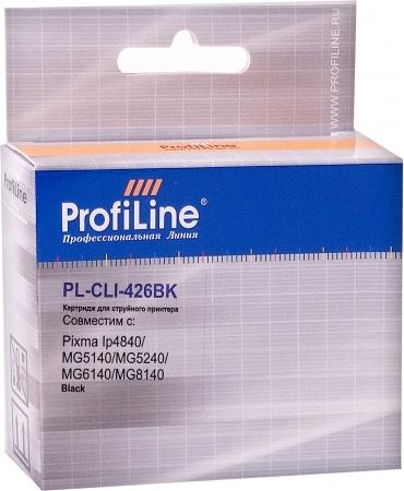 Картридж совместимый ProfiLine CLI-426BK для Canon с чипом