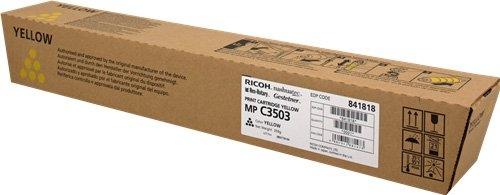 Тонер-картридж MPC3503 для Ricoh желтый