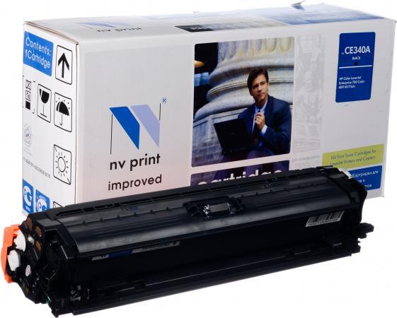 Картридж совместимый NV Print CE340A черный для HP