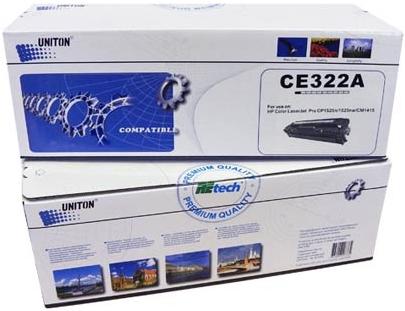 Картридж совместимый UNITON Premium CE322A желтый для HP