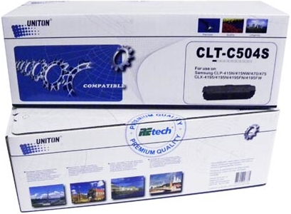 Картридж совместимый UNITON Premium CLT-C504S синий для Samsung