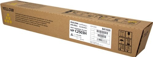 Тонер-картридж MPC2503H для Ricoh желтый