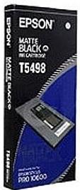 Картридж EPSON C13T549800 матовый черный оригинальный
