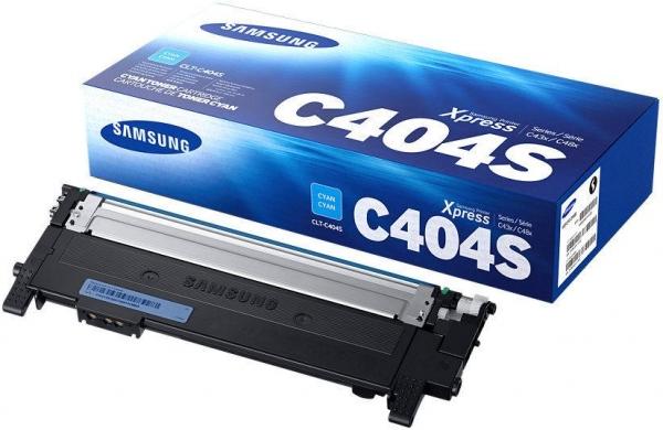 Картридж Samsung CLT-C404S голубой оригинальный