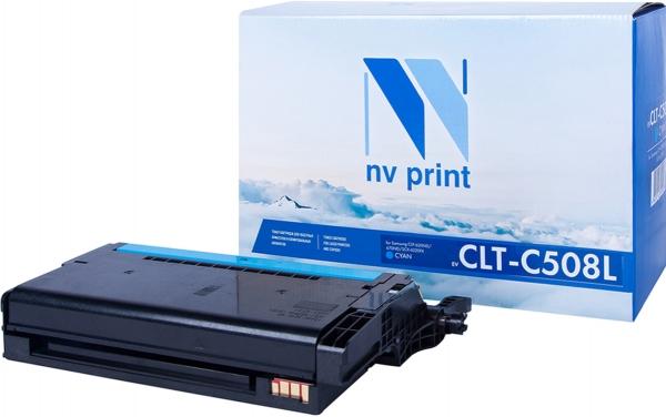 Картридж совместимый NVP CLT-C508L Голубой для Samsung