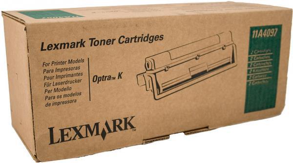 Картридж Lexmark 11A4097 черный двойная упаковка оригинал
