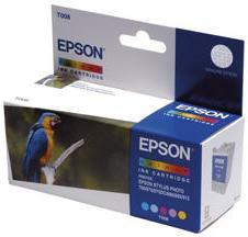 Картридж EPSON C13T00840110 цветной оригинальный