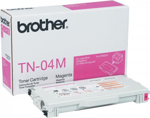 Картридж Brother TN-04M пурпурный оригинальный