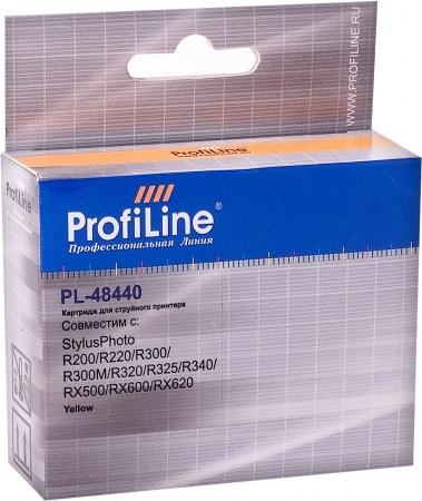 Картридж совместимый ProfiLine 48440 для Epson желтый