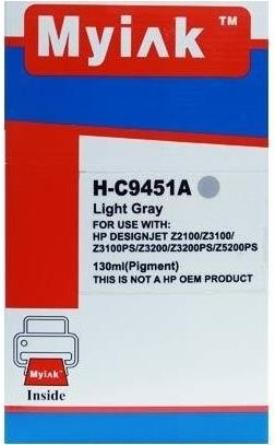 Картридж совместимый MyInk С9453А красный для HP