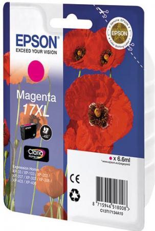 Картридж EPSON C13T17134A10 пурпурный оригинальный