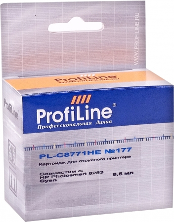 Картридж совместимый ProfiLine C8771HE №177 для HP голубой